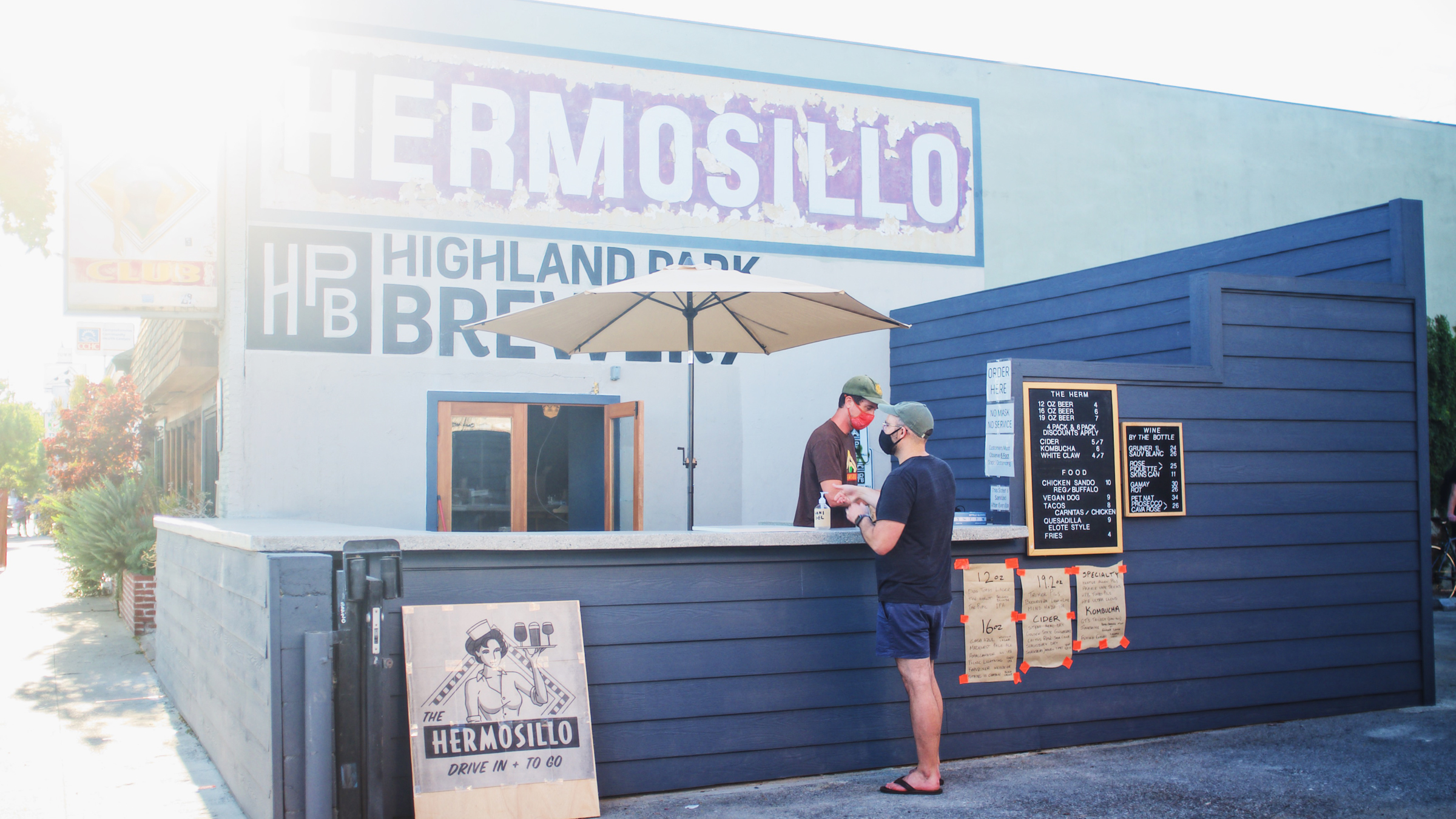 Highland Park's Hermosillo reopens with a new drive-in, walk-up format