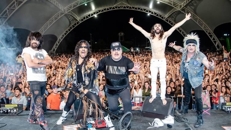 El primer autoconcierto estará a cargo de la banda de rock Moderatto