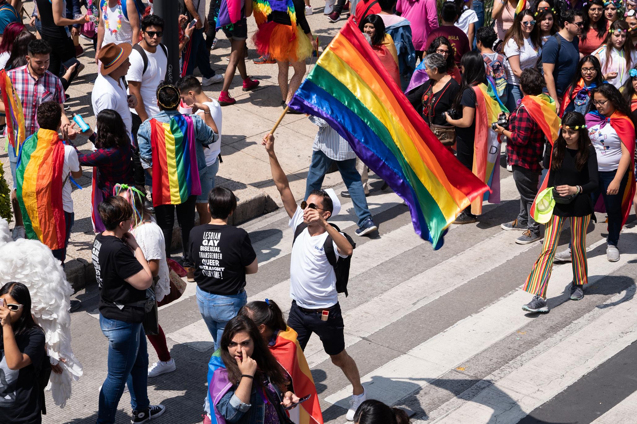 Marcha gay Ciudad de México