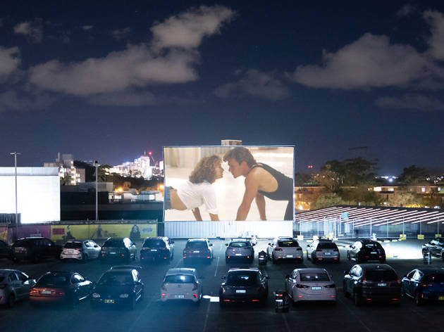 Win a physically-distanced date night from Mov'in Car Drive-in Cinema