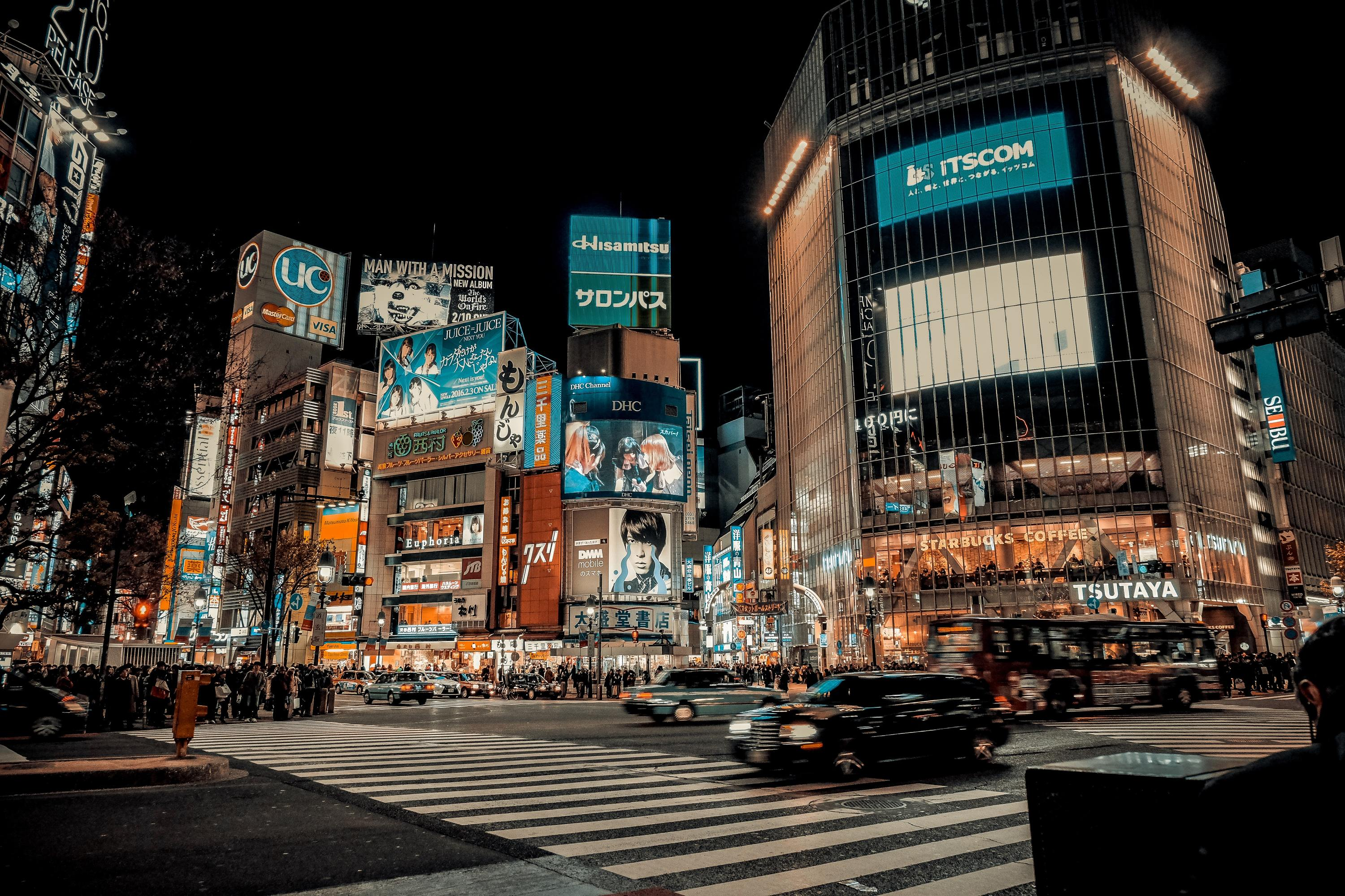 Explore Shibuya, Koenji, Tsukiji and more with these POV video walks around Tokyo