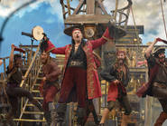 Christopher Walken as Captain Hook in Peter Pan Live!
