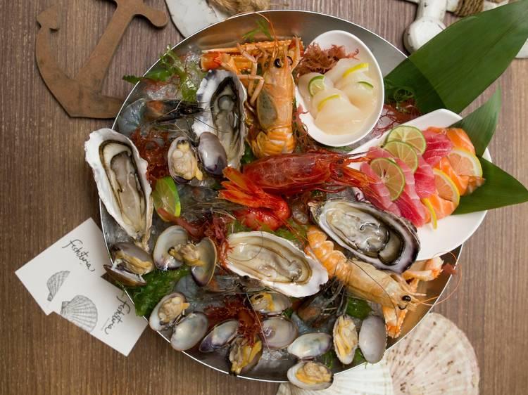 Seafood platter at Fishsteria Waterside