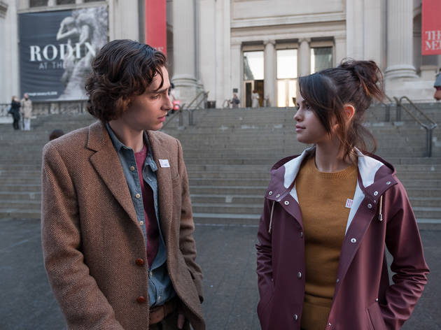 Timothée Chalamet serenades Selena Gomez with Sinatra in an exclusive 'A Rainy Day in New York' clip