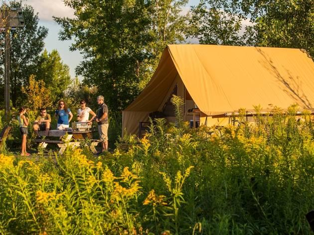 Camping Parc national des Îles-de-Boucherville