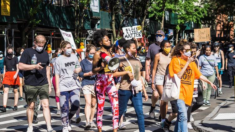 Protest, BLM, Black Lives Matter, New York City, NYC