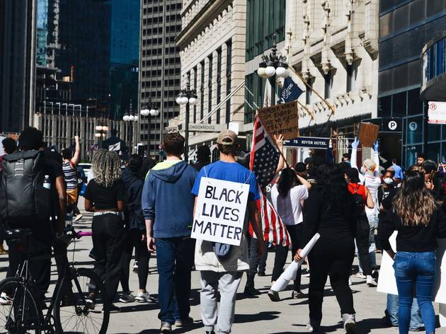 How to support Black Lives Matter and other groups protesting in Chicago