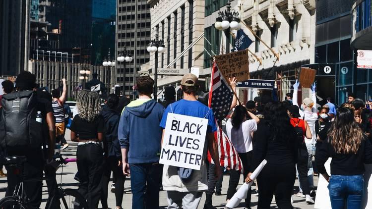 Chicago, protest, Black Lives Matter, BLM