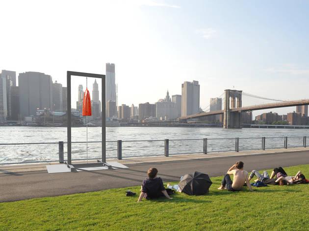 New York, Public Art Fund, Socrates Sculpture Park, Long Island City, Farah Al Qasimi, Jean-Marie Appriou, Central Park, LaGuardia Airport, City Hall Park, Brooklyn Bridge Park, Melvin Edwards, Davina Semo
