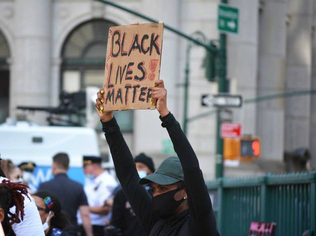 BLM; protest; black lives matter; new york city