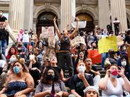 New York City, protest, George Floyd, Governor Cuomo, Mayor De Blasio, NYPD