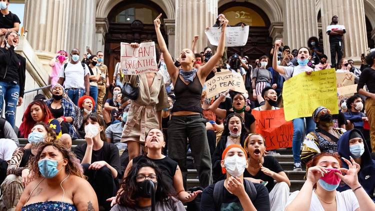 New York City, protest, George Floyd, Governor Cuomo, Mayor De Blasio, NYPD, black lives matter, BLM