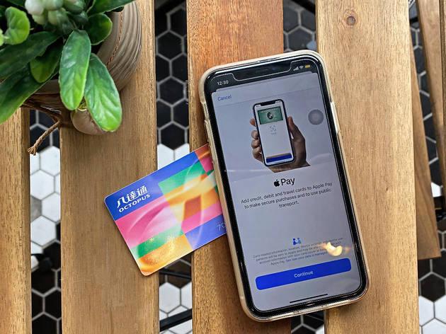 Octopus card Apple Pay