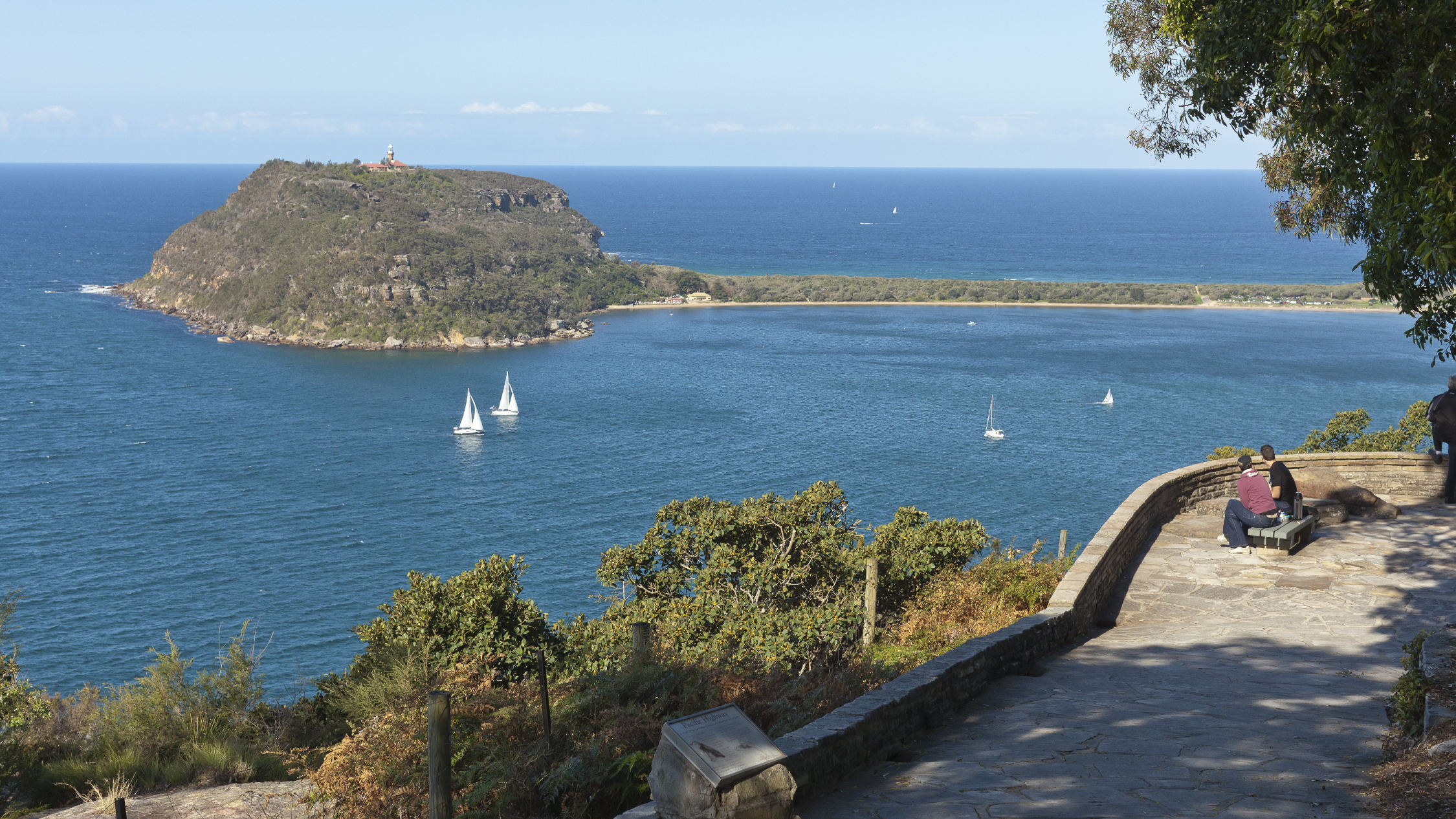 West Head Lookout Ku-ring-gai Chase National Park