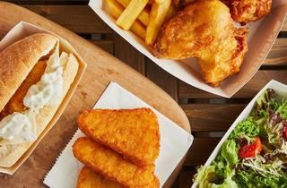 fish & chips, British, Hong Kong