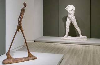Dos muestras escultóricas de la expo Rodin-Giacometti