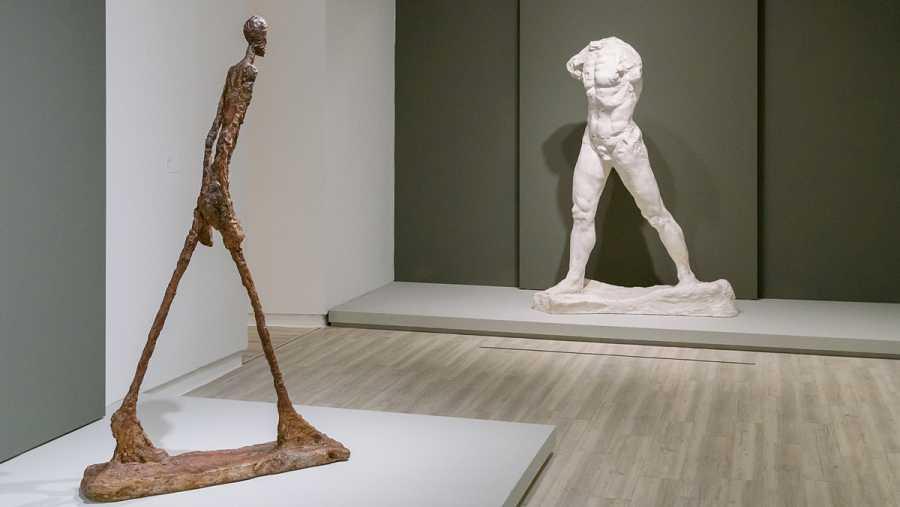 La exposición Rodin-Giacometti, gratis para los sanitarios