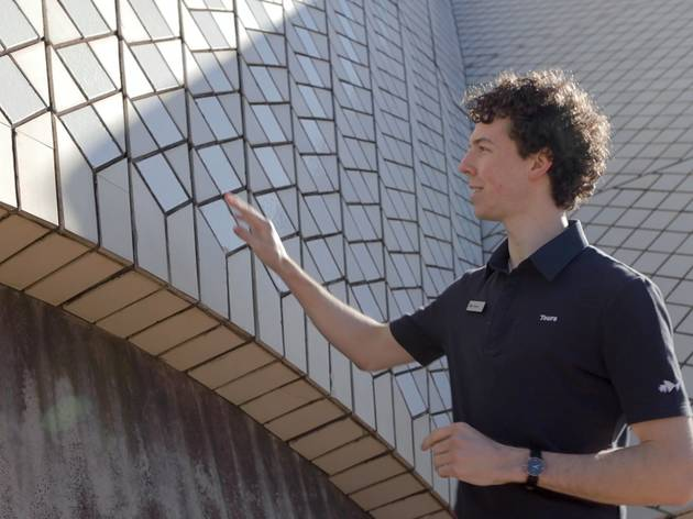 Declan leads us on a backstage tour of the Sydney Opera House
