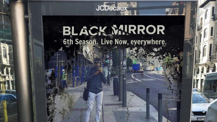 Anuncio Black Mirror