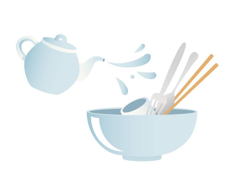 Washing your cutlery