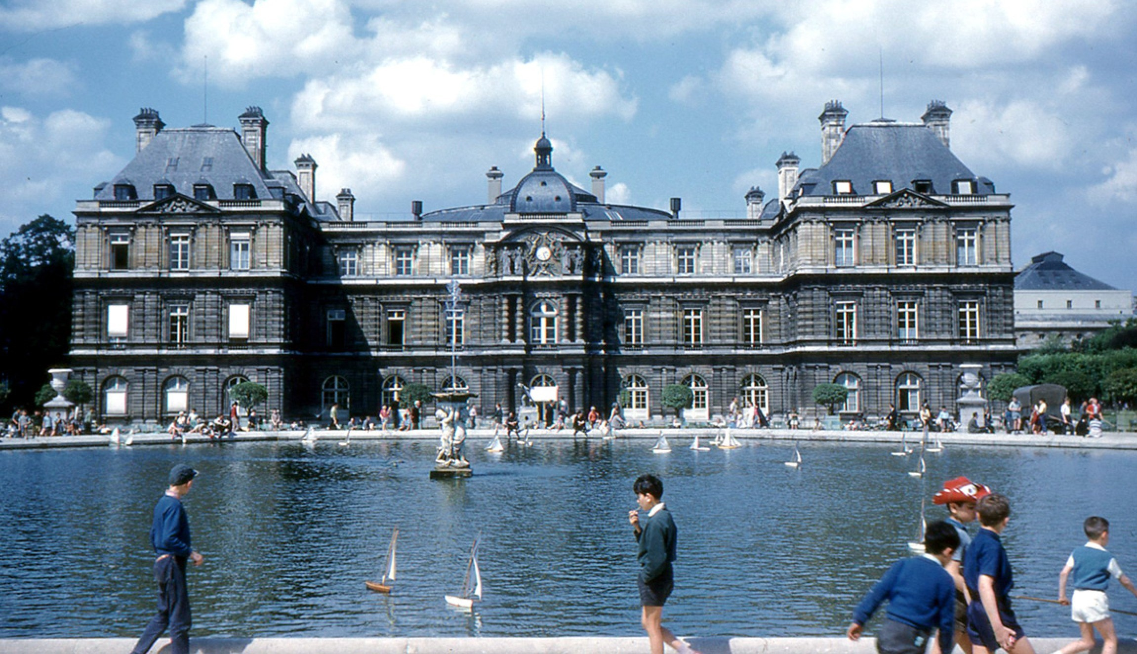Palais du Luxembourg in 1960