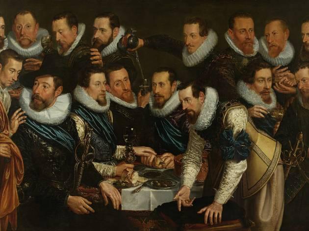 Óleo de 'Rembrandt y el retrato en Ámsterdam, 1590-1670'
