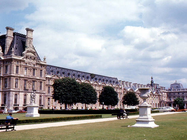 Louvre in 1973
