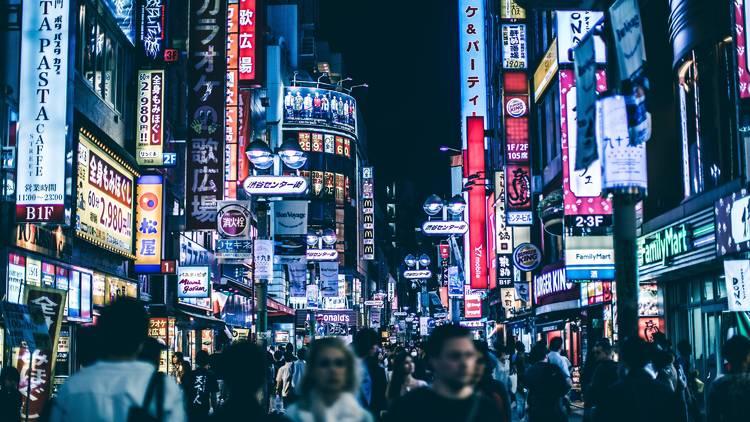 Shibuya, nightlife