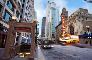 chicago theatre, state street