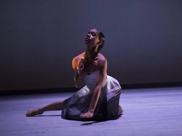Dandara Viega in Ballet Hispánico's El Viaje