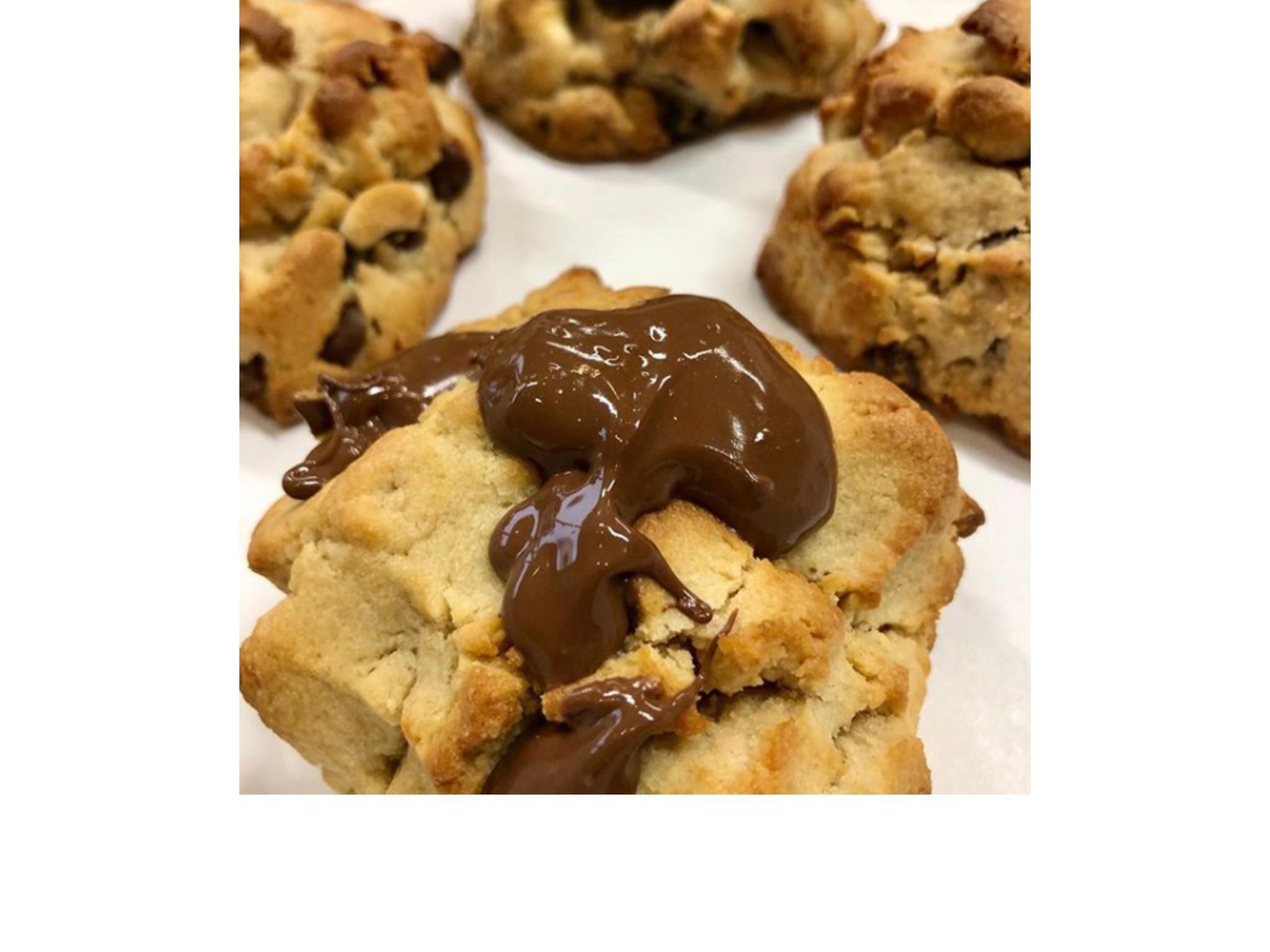 galleta de nutella