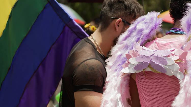 Macha del Orgullo LGBTTTI