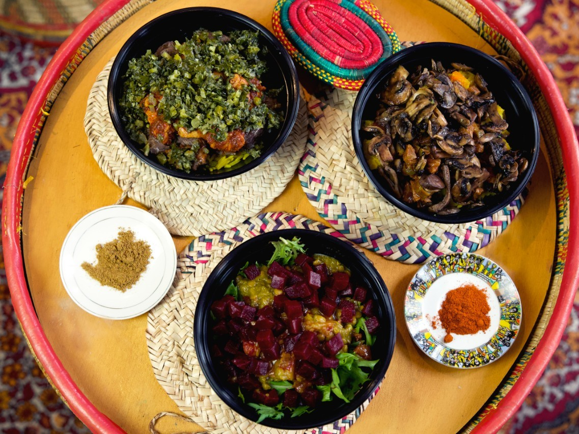 Saba's Ethiopian is back and serving individual lunch bowls