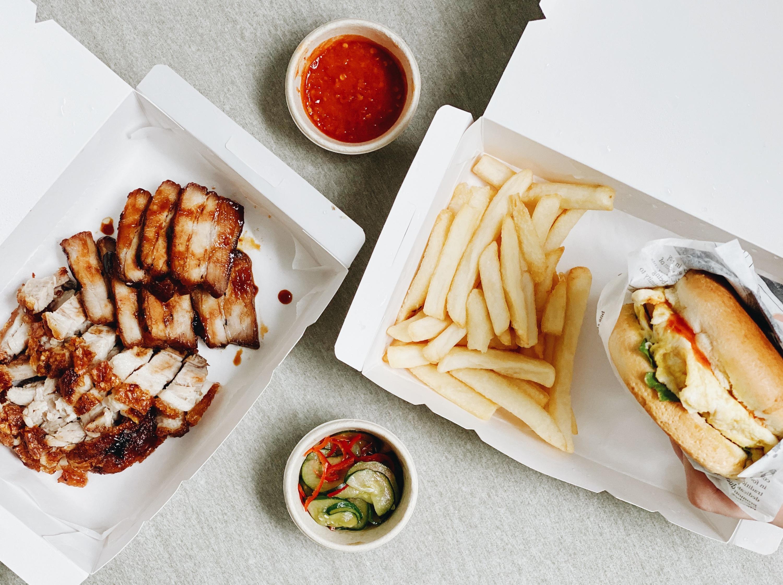 Da Bao Diaries: Asian street food including a Ramly-inspired burger