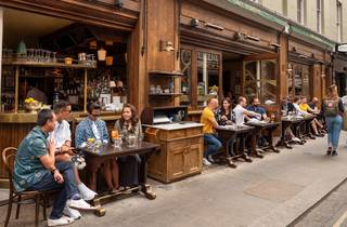 Cafe Boheme, soho streets