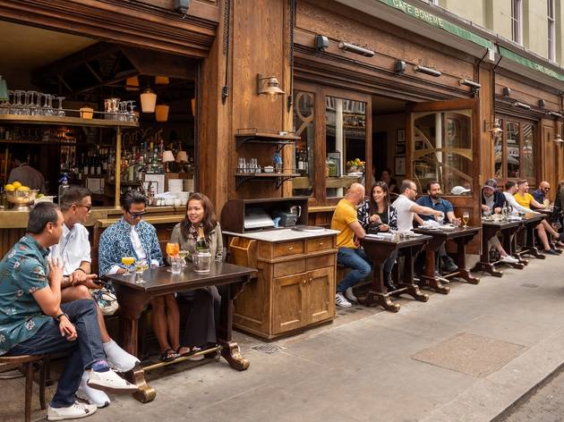 Soho could be pedestrianised and filled with outdoor restaurants and bars this summer