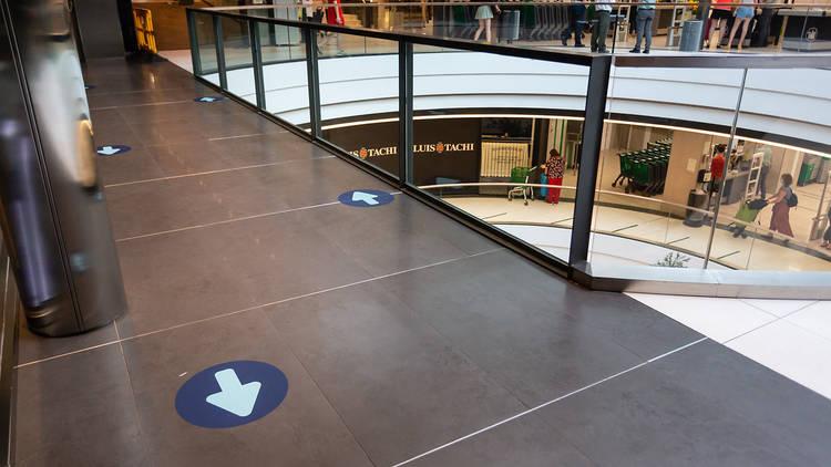 Centro comercial ABC Serrano fase 2 covid