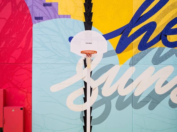 The Hood e a arte urbana do anti-mall