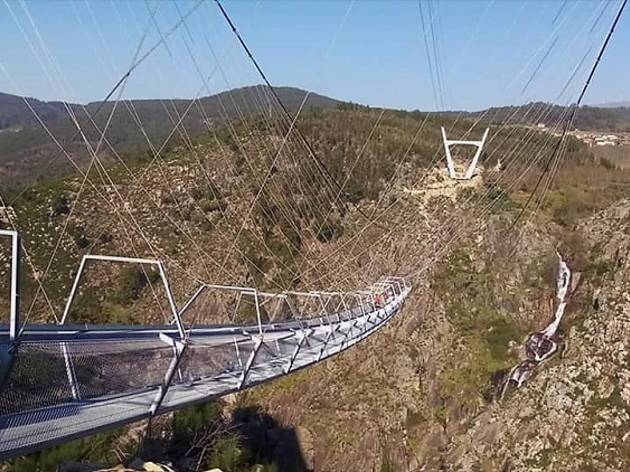 Are you brave enough to walk over Portugal's terrifying new bridge?