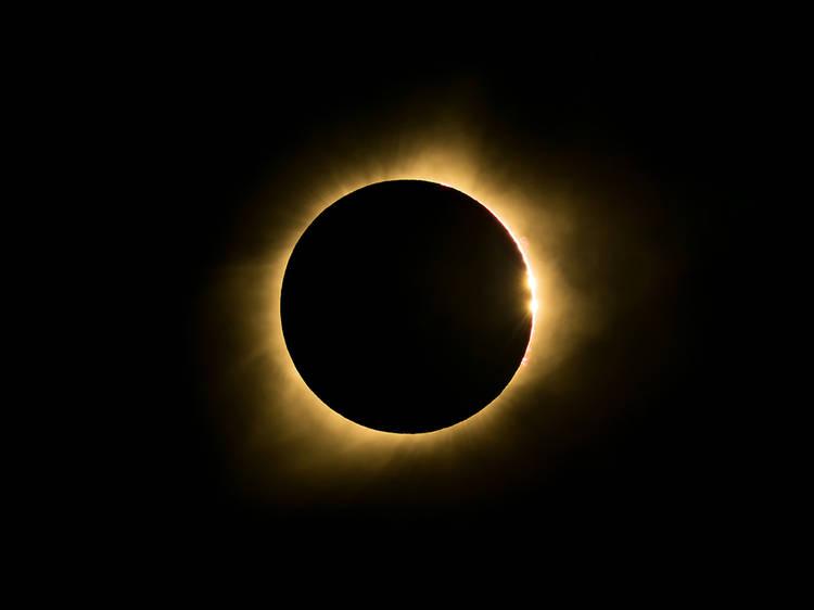 December 4: Total solar eclipse