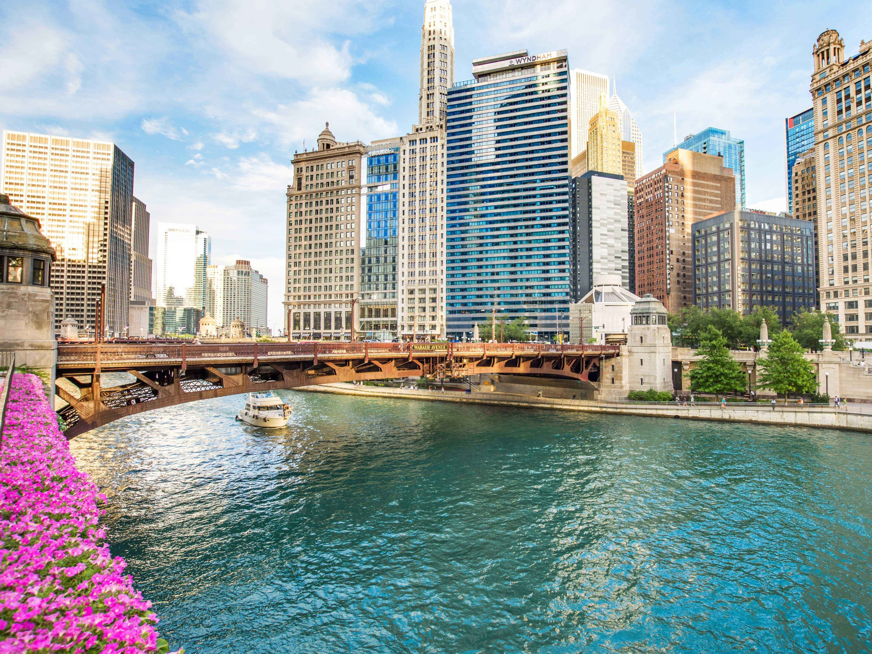 Downtown Chicago reopens today, with CTA service restored and bridges lowered