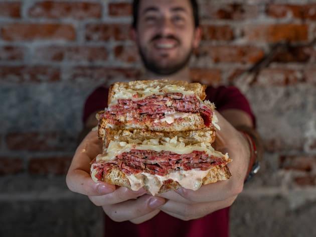 fabian con sandwich