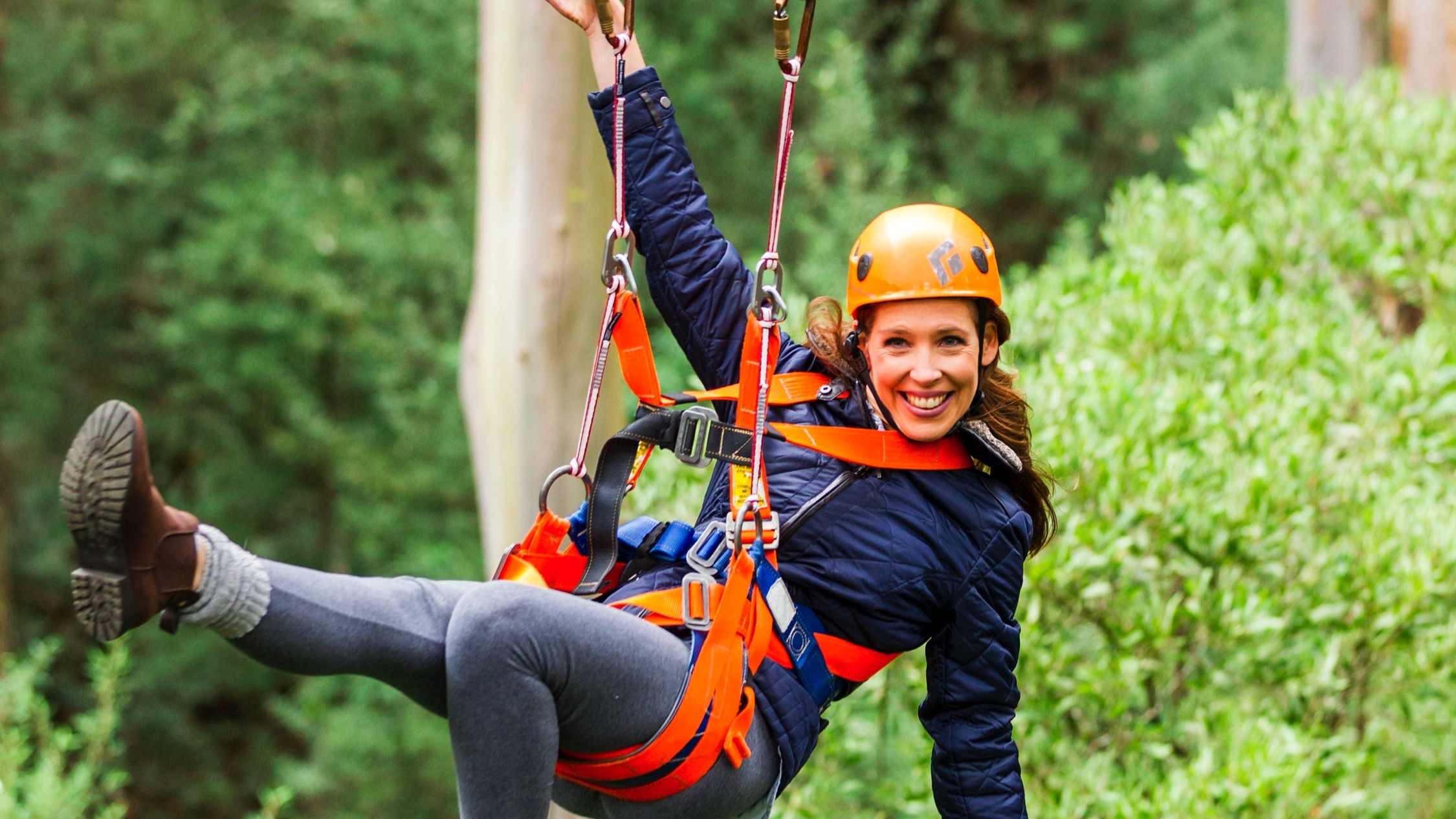 Person at Otway Fly Treetop Adventures