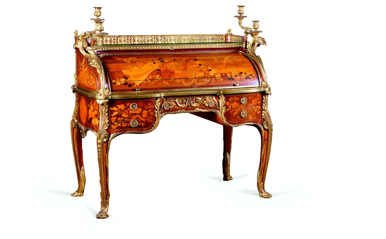 A idade de ouro do mobiliário francês