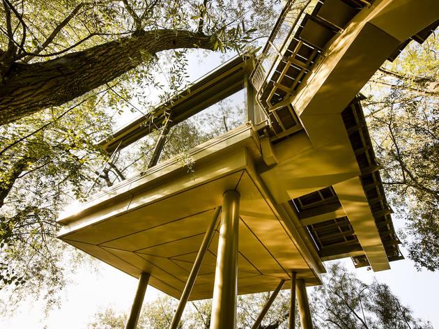 The Glass Diamond, La Pinte du Vieux Manoir, Murten, camping in switzerland article