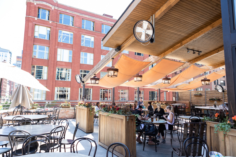 bernie's, bernies, rooftoop, outdooor, patio, restaurant, river north