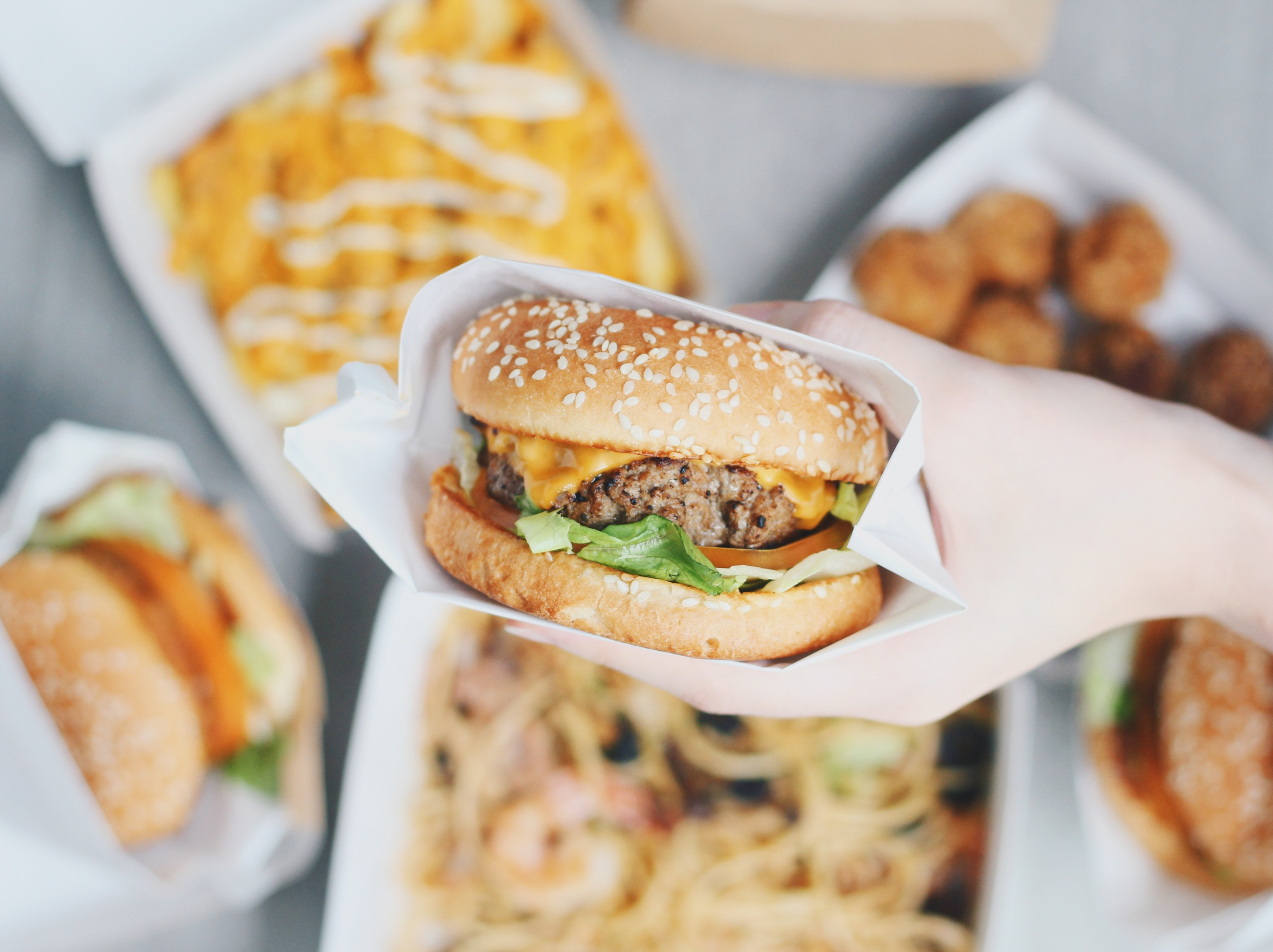 Da Bao Diaries: burgers and pasta from a hawker stall