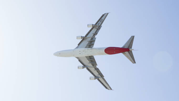 Qantas air craft