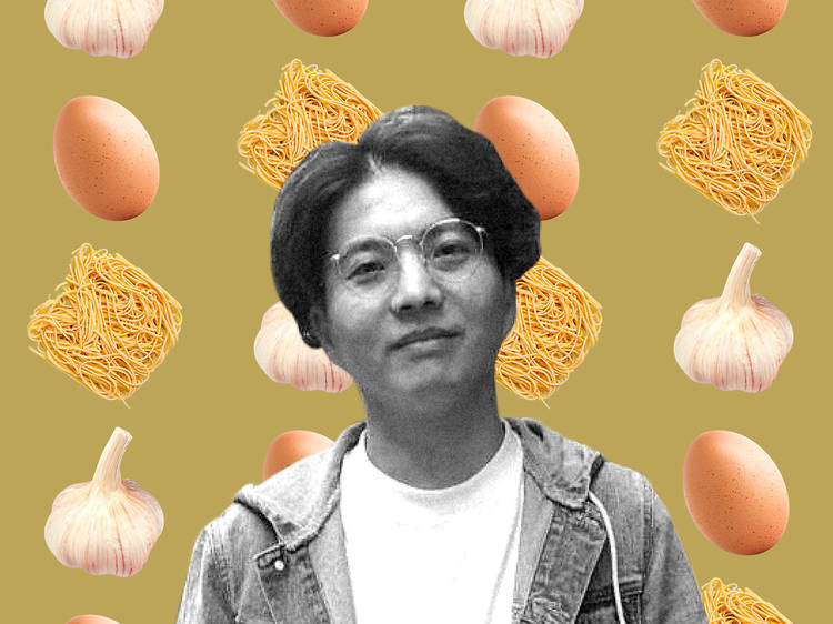 Three-Ingredient Recipe: Bin Li's egg-yolk-and-garlic noodles