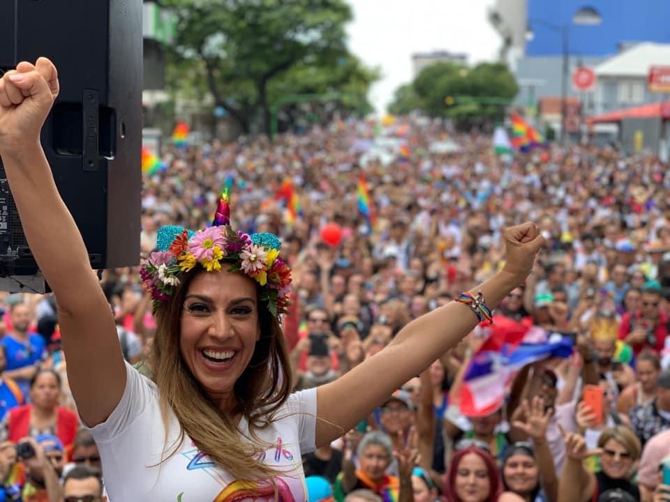 Mónica Naranjo en el Orgullo